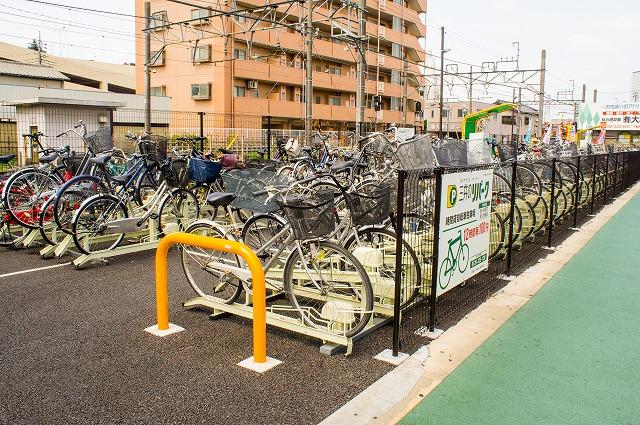 鶴ヶ島駅駐輪場